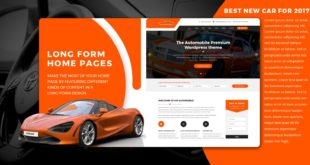 VW Automobile Pro - WordPress Theme 100% FREE
