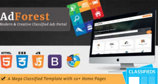 AdForest-v3.0-Largest-Classified-Marketplace-Ads-Template-RTL