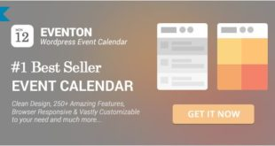 EventOn - WordPress Event Calendar Plugin Free Download