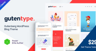 Gutentype-v1.7-100-Gutenberg-WordPress-Theme