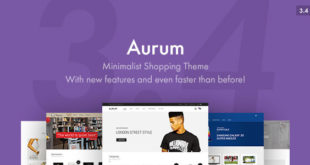 Aurum-v3.4.1-Minimalist-Shopping-Theme