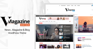 Vmagazine-v1.0.3-Blog-NewsPaper-Magazine-WordPress-Themes