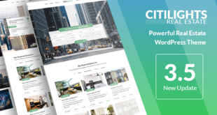 CitiLights-v3.5.4-Real-Estate-WordPress-Theme