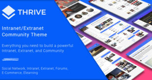 Thrive-v3.0.6-Intranet-Community-WordPress-Theme