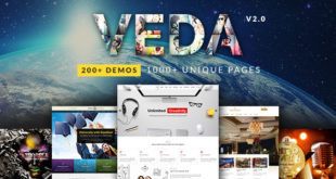 VEDA-v2.0-Multi-Purpose-Theme